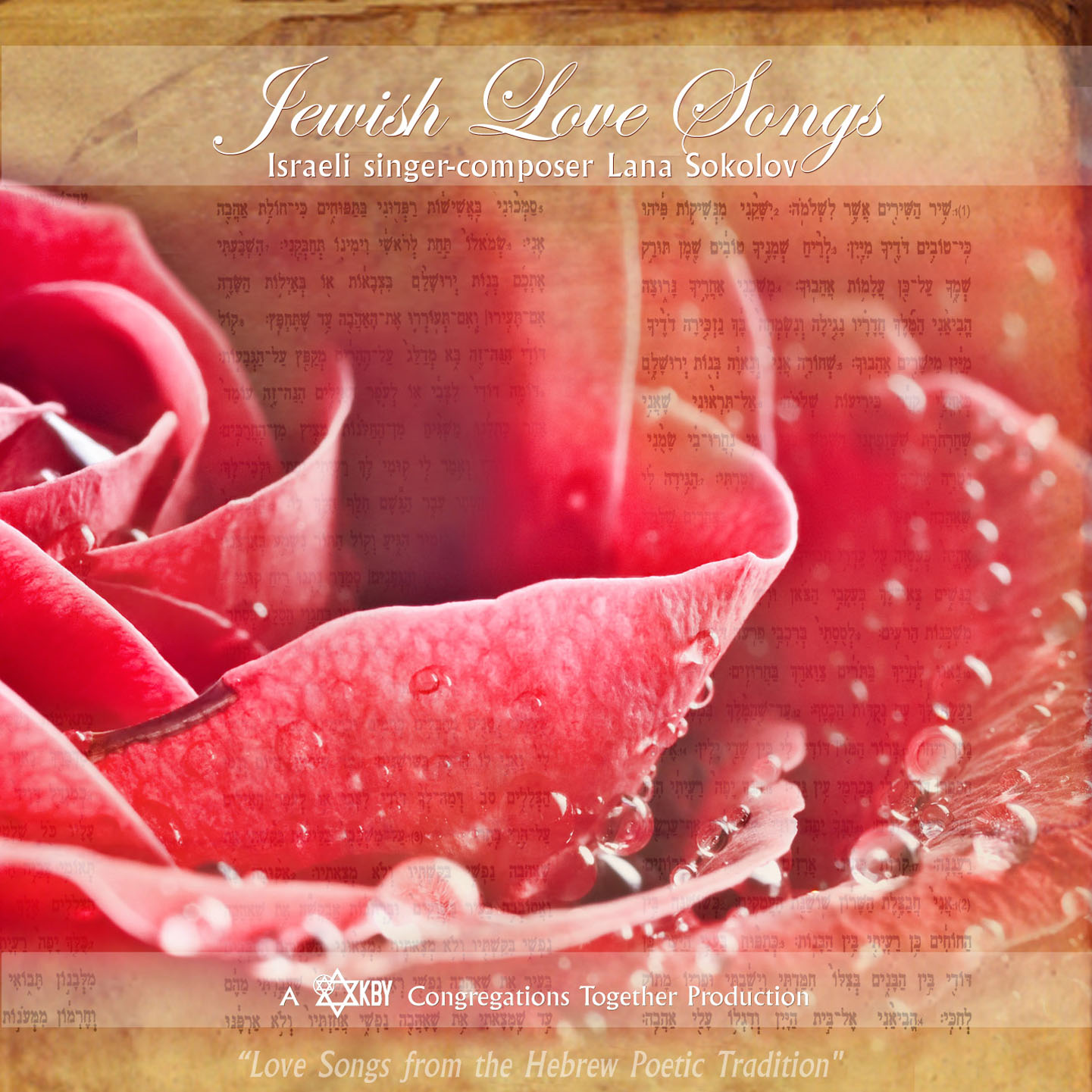 Jewish Love Songs CD